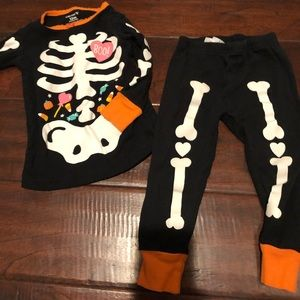 Halloween Glow in the Dark Pajamas